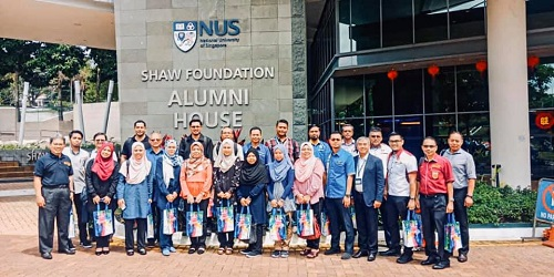 Lawatan Penanda Aras dan Pendidikan ke National University of Singapore (NUS)