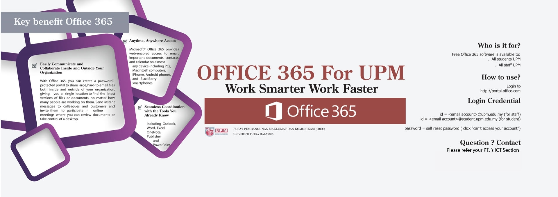 OFFICE 365 UPM